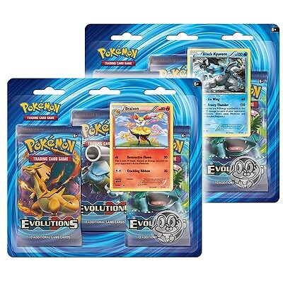 Pokemon TCG - XY12 Evolutions Triple Pack Boosters x 12