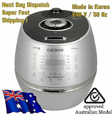 NEW Cuckoo IH 6 Cup Pressure Cooker CRP-DHSR0609F / 240V