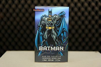 Warner Brother's Batman Eau De Toilette 50ml New In Box With Free Shipping