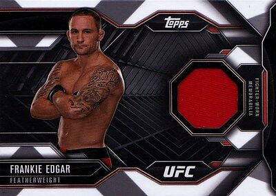 Frankie Edgar 2015 Topps UFC Chronicles. Chronicles Relic Card CR-FE New!