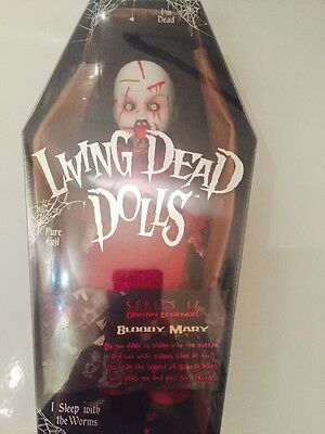 Rare Mezco Living Dead Doll Bloody Mary Series 17 New And Sealed