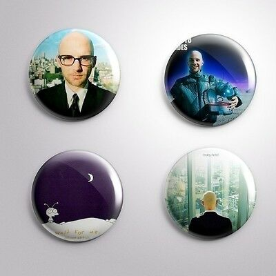 4 MOBY - Pinbacks Badge Button 25mm 1''