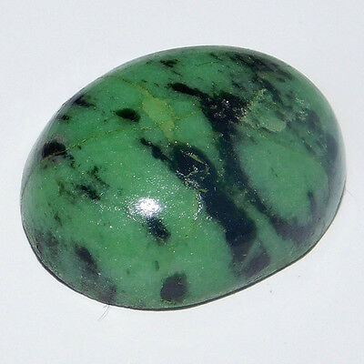 26.2Cts A+ 100% Natural  19X15X7Mm Ruby Zoisite Oval Cabochon Loose Gemstones