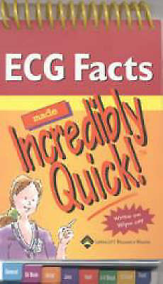 ECG Facts Made Incredibly Quick! by Lippincott Williams and Wilkins (Spiral bou…