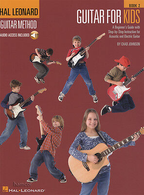 Hal Leonard Guitar Method for Kids 2 Book/DLC Learn How To Play