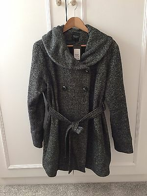 Brand New 'New Look' Maternity Coat With Tags - Size 12