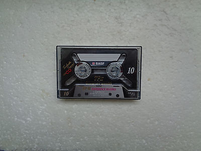 Vintage Audio Cassette BASF TP II 10 From 1995 - Fantastic Condition !!