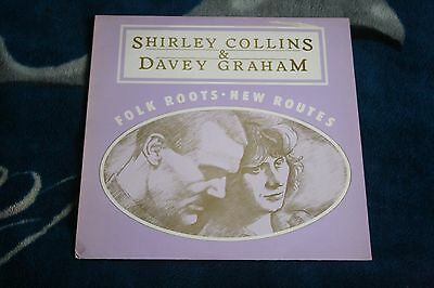 Shirley Collins And Davey Graham: Folk Roots New Routes  Uk Lp Gdc 001