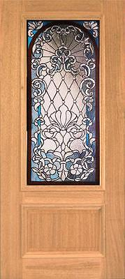 Beautiful Stained Glass Custom Entry Or Interior Door - Jhl164