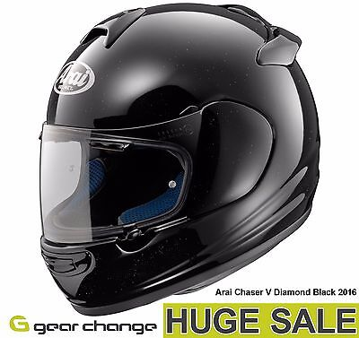 """Arai Chaser V """"Diamond Black"""" (Size Small) Was £329.99 - Now £249.99 (24% OFF)"""
