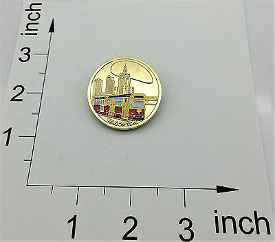 Polish Poland Medal Trams Warsaw Friendly People And The City - Wagon 13N
