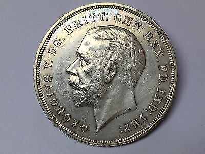 1935 George V Rocking Horse Silver Crown