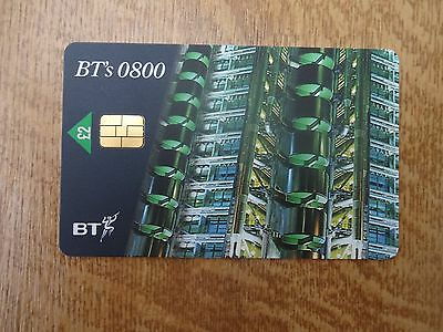 Bt Pro335A 0800/ Lloyds By Night Chip Card With Difficult 03/99 Expiry Date Mint