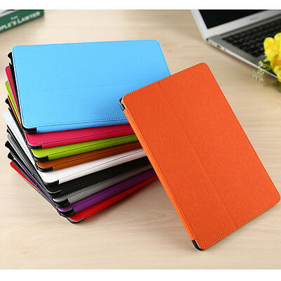 New PU Leather Smart Slim Folio Flip Stand Case Cover For iPad Air / Air 2