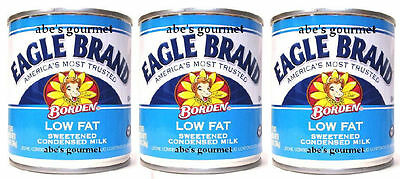 Eagle Brand® Low Fat Sweetened Condensed Milk (Pack of 3) 14 oz Cans