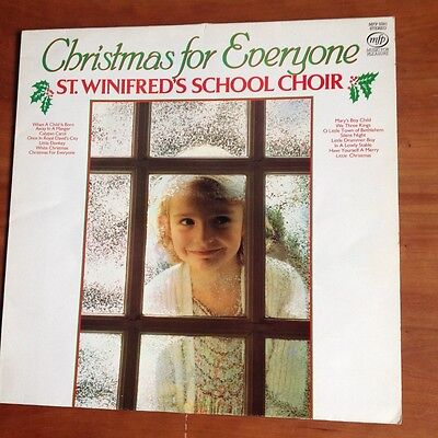 Christmas for Everyone - St Winifred's School Choir - vinyl stereo lp
