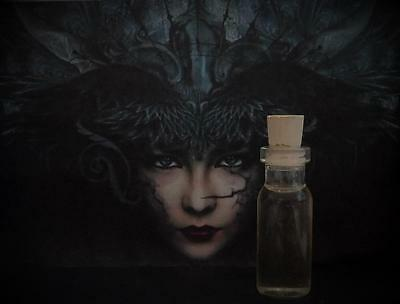 MORRIGAN Goddess Worship Overcoming Enemies Ritual Oil Potion~Wicca Witchcraft