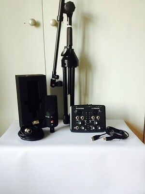 Se X1 Microphone and Recording Package inc Microphone-Interface-Mic Stand