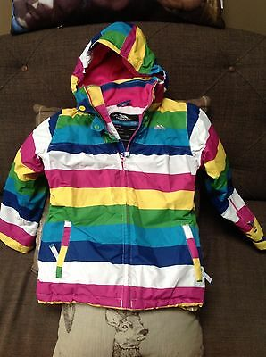 Girls Tresspass ski jacket...7/8 years