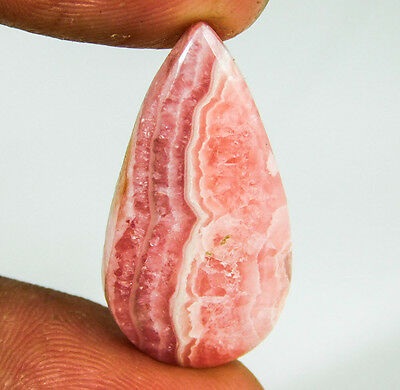 19.6Ct 100% NATURAL REDDISH PINK RHODOCHROSITE GEMSTONE CABOCHON