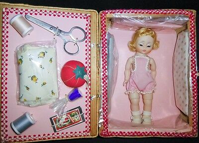Madame Alexander 1965-66 ONLY FAO Schwarz EXCLUSIVE Alexanderkin Sewing Basket
