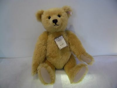 """Steiff Gold 2001 Limited Edition Collectors Bear 49cm 19"""" Tall"""