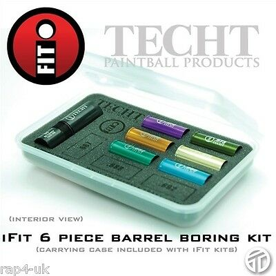 TechT iFit 6 Piece Paintball Barrel Sniper Kit - increase your accuracy [BD3]