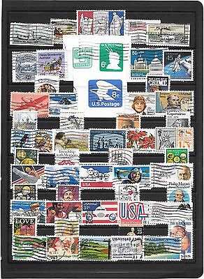 Usa,collection Of Used Stamps.