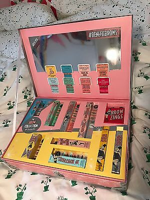 BENEFIT Brow Collection Gift Set 10 Full Size Products! Brand New RRP £200+