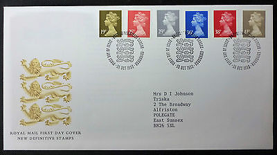 GB 1993 Royal Mail New Definitive Stamps FIRST DAY COVER bureau