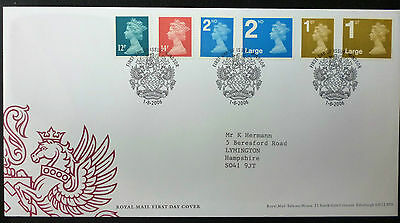 GB 2006 Royal Mail Definitives FIRST DAY COVER windsor