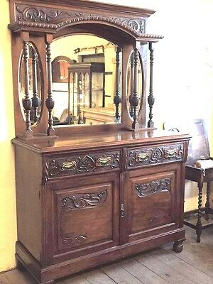 Antique Buffet/Sideboard, Edwardian