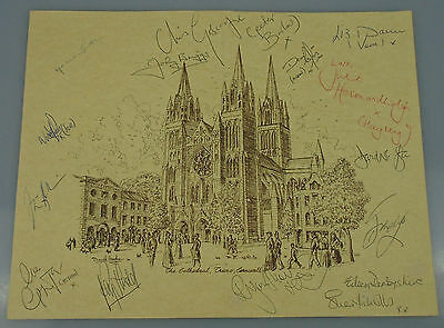 CC ~ 2  Signed ~ Drawings ~ Truro ~ Cathedral ~ Cornwall ~ Shakespeare Company ~