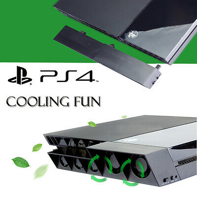 USB External Turbo Temperature Control Cooler Cooling Fans for Sony PS4 Slim Pro