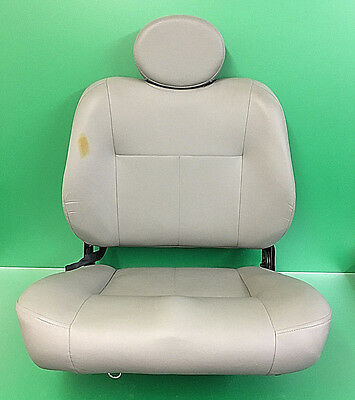 """Pride  Captains Seat Assembly Grey 23"""" Wide x 20"""" Deep  #8957"""