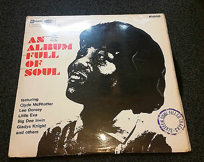 023 ~ An Album Full of Soul ~ LP ~ 1966 ~ Soul ~ Compilation ~ 2 Sides ~ Charity