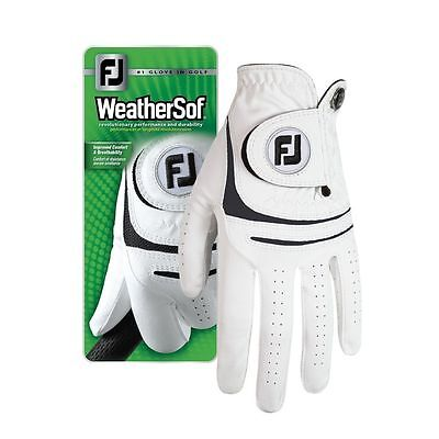 Footjoy WeatherSof Golf Glove LEFT HAND For the RIGHT HANDED GOLFER S M ML L