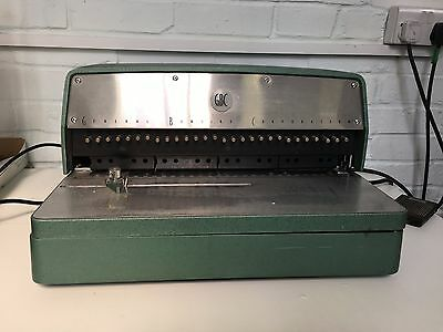 GBC comb binding and punch machine combo Model 316EP and Model TBC 3