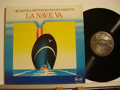 ORCHESTRA FRANCO BAGUTTI disco LP 33 giri LA NAVE VA Vol. 10 Made in Italy