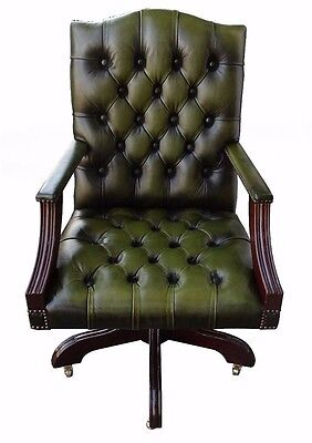 Gainsborough Chesterfield Captains Chair Adjustable