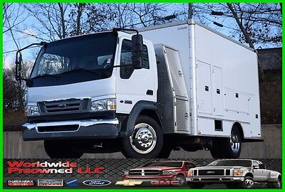 2008 Ford LCF Cab Over Utility Truck 4.5L Power Stroke Diesel Commercial Used AC
