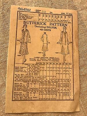 Antique Sewing Pattern-1920's      #6761