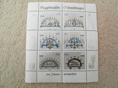 Postage Stamps Ddr Mint Minisheets