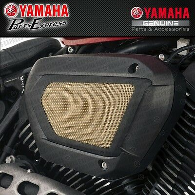 New 2014 - 2016 Yamaha Xvs Bolt Air Filter Cleaner Cover Brass 1Tp-E54G0-T0-00