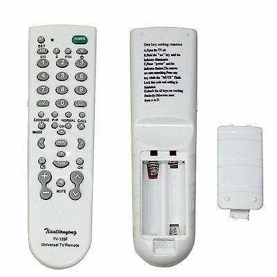Universal TV Remote Control Perfect replacement TV Controller UK New One for All