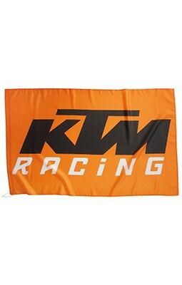 New Ktm Racing Flag Mx Off-Road Logo Flag #3Pw1070600 Now $14.99 Free Shipping!