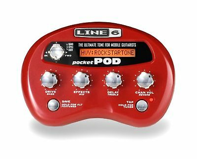 Line 6 Pocket Pod Guitar Multi Effects Pedal & Power Supply