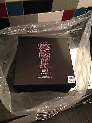 Kaws Black Bff Plush Fort Worth Moma Limited Edition Toy