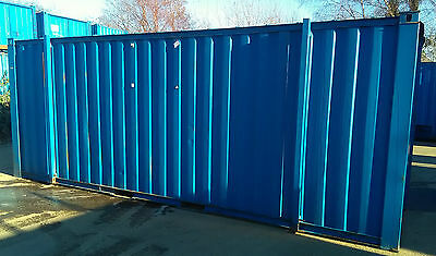 21ft x 9ft (6.4m x 2.7m) Steel Store (Container)
