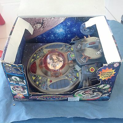 Vintage Starriors Space Ship Flying Saucer Battery Operated Toy Made in China